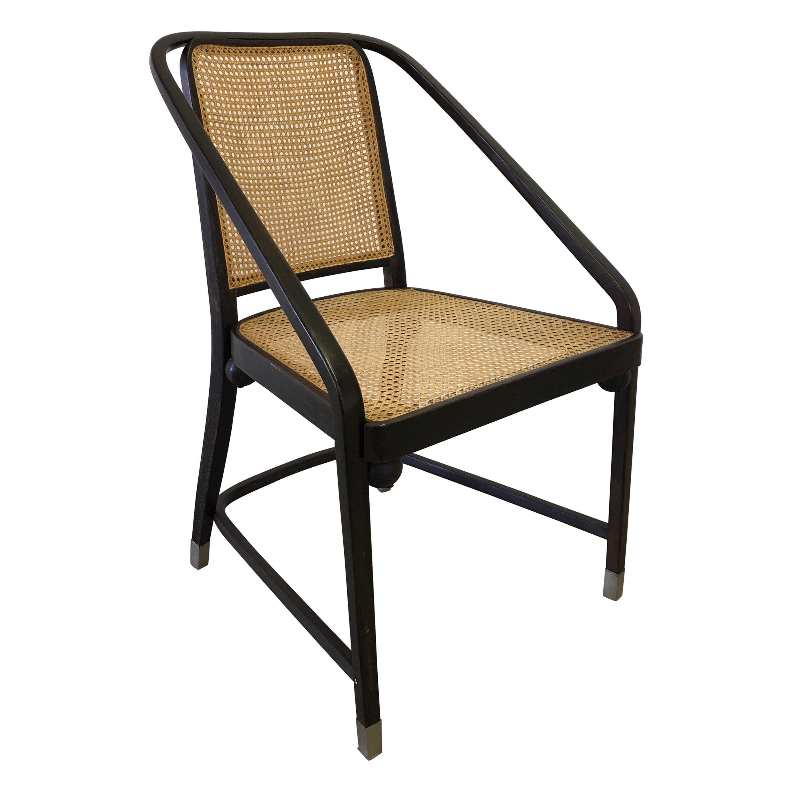 Josef Hoffmann Chair for Jacob and Josef Kohn Furniture