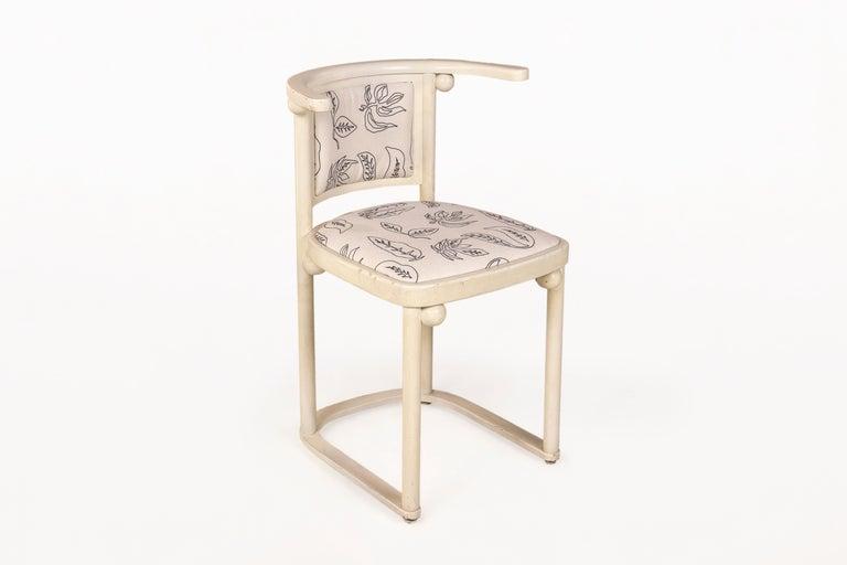 Vienna Secession Josef Hoffmann Chairs for Thonet, circa 1910, Austria For Sale