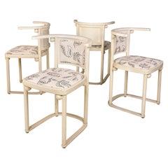 Josef Hoffmann Chairs for Thonet, circa 1910, Austria