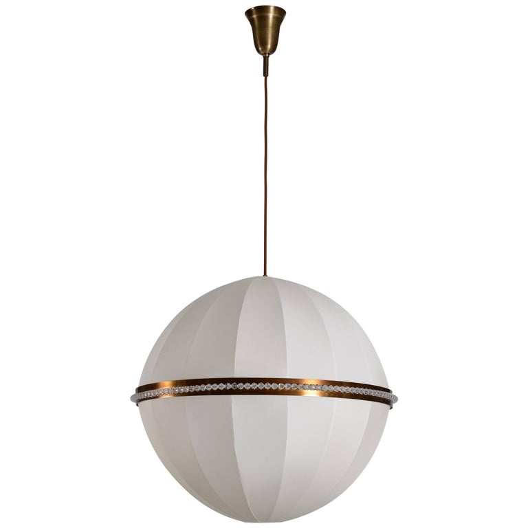 Josef Hoffmann for Wiener Werkstätte Luna chandelier, new, offered by Woka Gallery