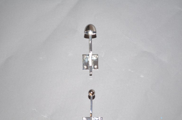 Austrian Josef Hoffmann Coat Hook for the Wiener Werkstaette Re-edition For Sale