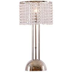 Josef Hoffmann Crystal Table Lamp Jugendstil Vienna Secession, Re Edtion
