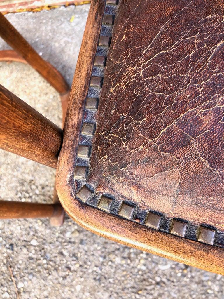 Early 20th Century Josef Hoffmann Fledermaus Chairs for J & J Kohn For Sale