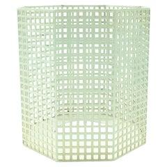 Josef Hoffmann for Bieffeplast White Vase, Italy 1980s