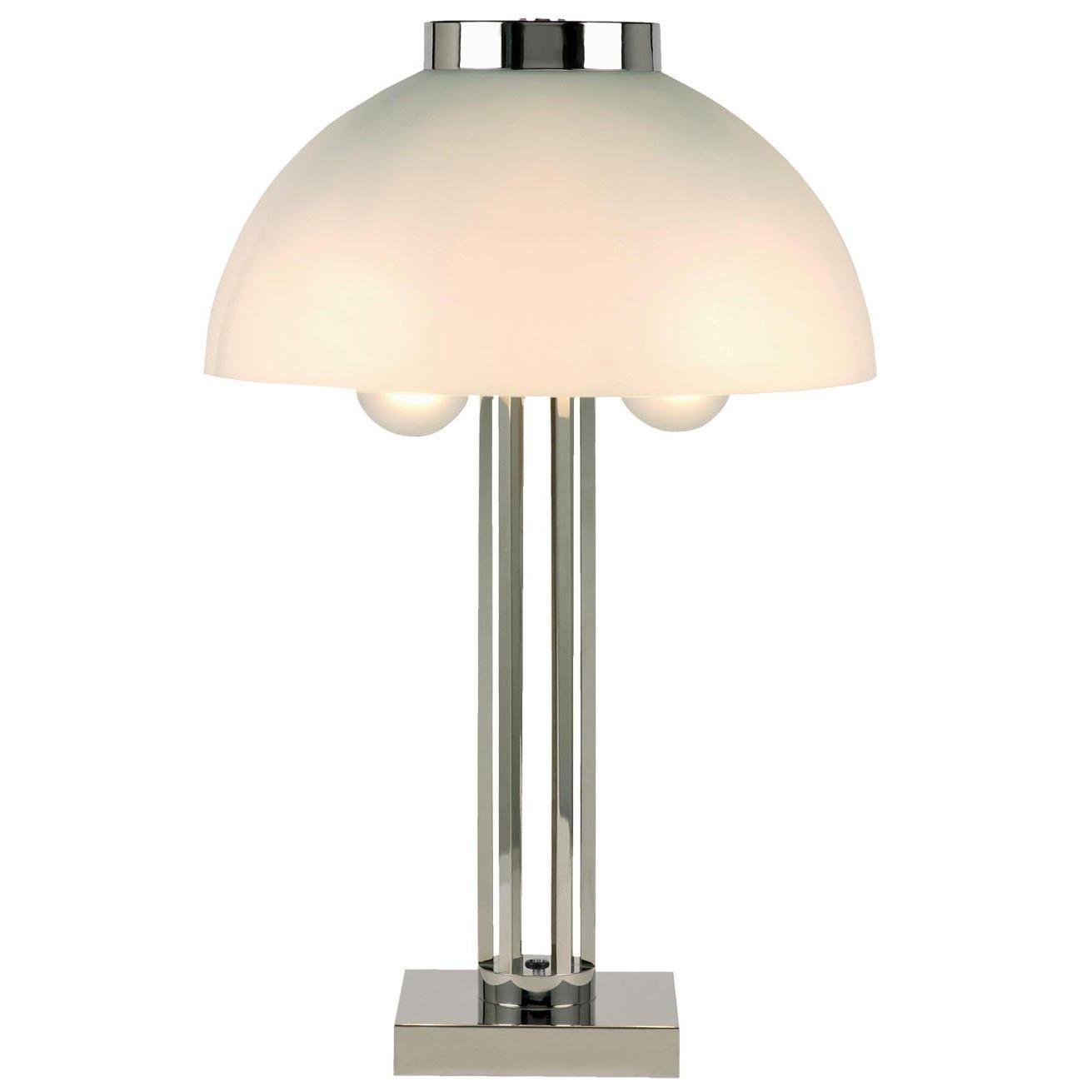 Josef Hoffmann for the Wiener Werkstaette Jugendstil Table Lamp, Re-Edition