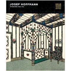 """""""Josef Hoffmann Interiors 1902-1913,"""" Book"""