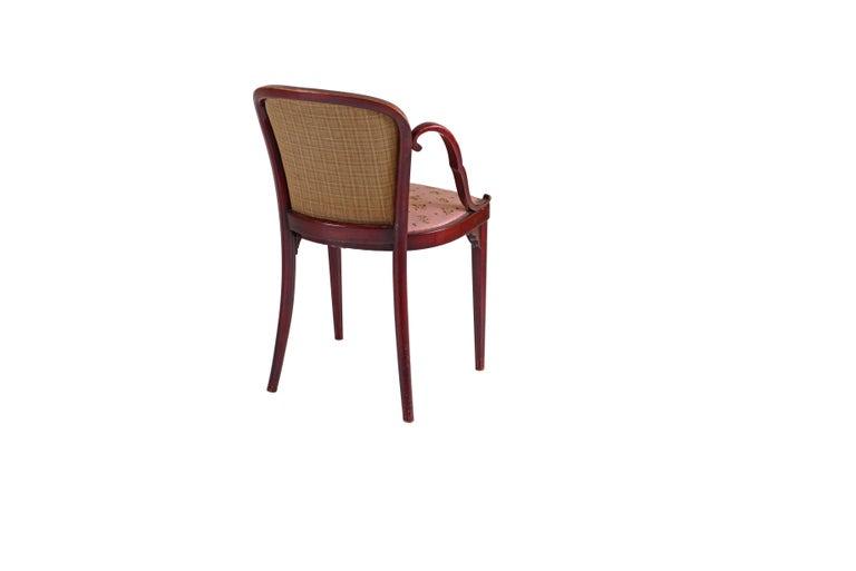 Jugendstil Josef Hoffmann & Kohn Jacob & Josef Josef Hoffmann Kohn Chair, 1914, Original For Sale