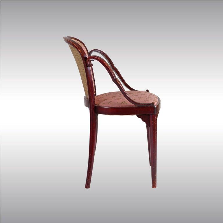 Austrian Josef Hoffmann & Kohn Jacob & Josef Josef Hoffmann Kohn Chair, 1914, Original For Sale