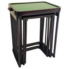 Josef Hoffmann Nesting Tables, Set of 4
