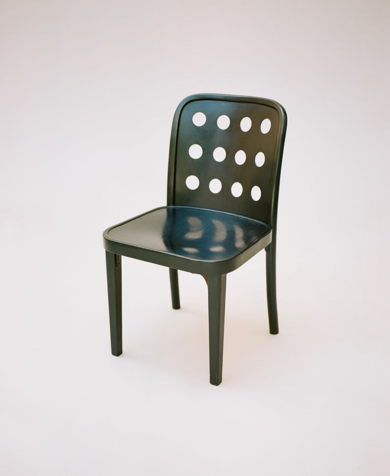 Vienna Secession Josef Hoffmann & Oswald Haerdtl, Side Chairs, circa 1928 For Sale