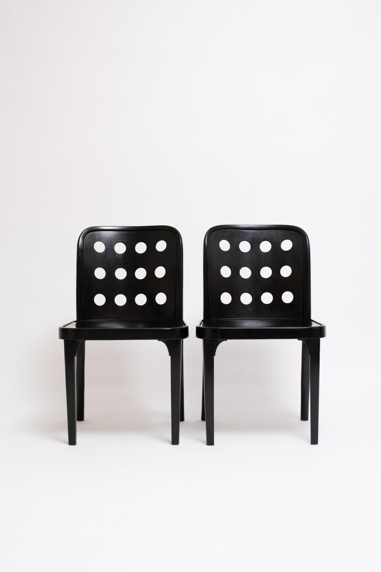 Josef Hoffmann & Oswald Haerdtl, Side Chairs, circa 1928 In Good Condition For Sale In Los Angeles, CA
