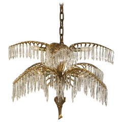 Josef Hoffmann Palme Kobe Chandelier, Re Edition