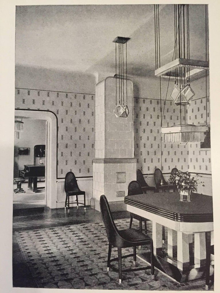 Josef Hoffmann Pende 1900 von Woka Lamps 3