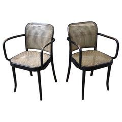 Josef Hoffmann Prague 811 Armchairs by Stendig