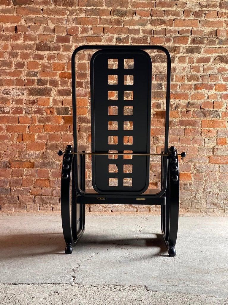 Josef Hoffmann Sitzmaschine Armchair by Wittmann Furniture, Vienna, circa 1980 For Sale 1