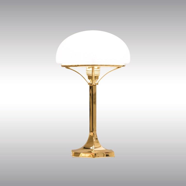 Josef Hoffmann Table Lamp 1901 Early 20th Century Re-Edition, Woka Lamps Vienna 3