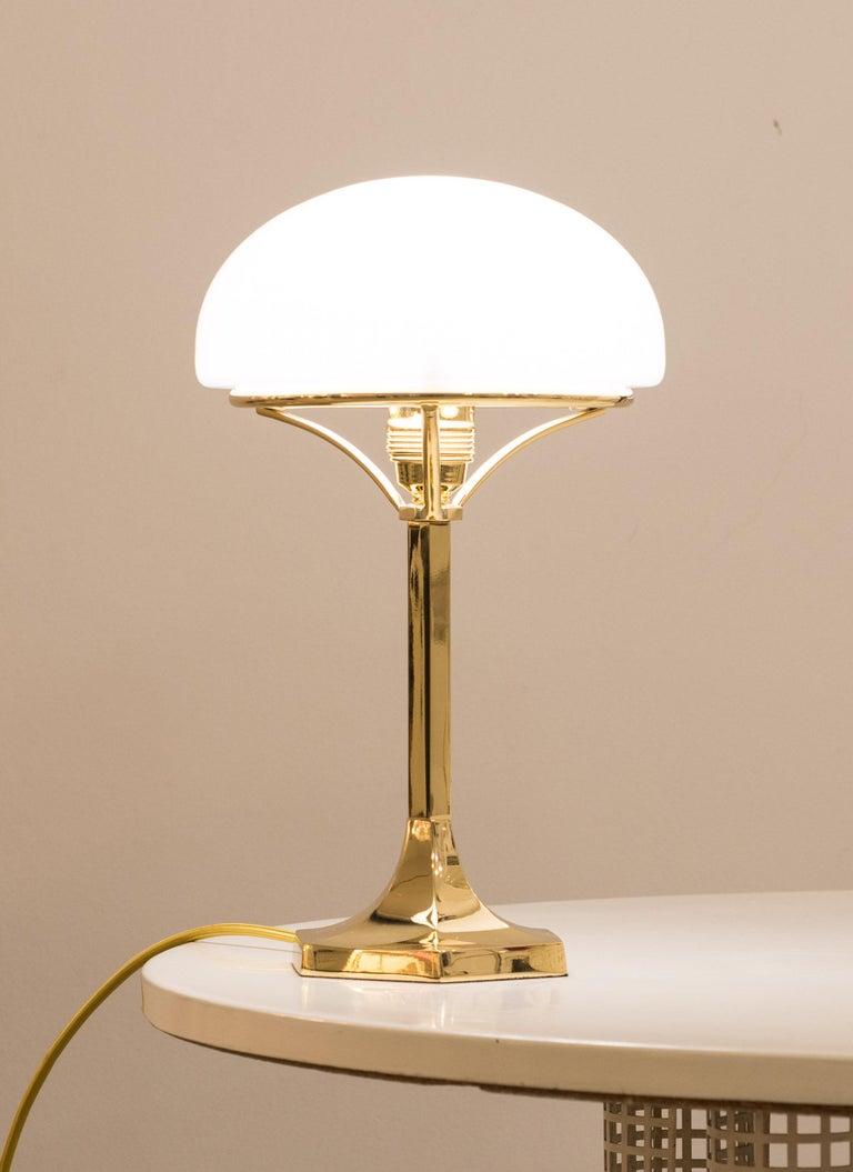 Austrian Josef Hoffmann Table Lamp 1901 Early 20th Century Re-Edition, Woka Lamps Vienna For Sale