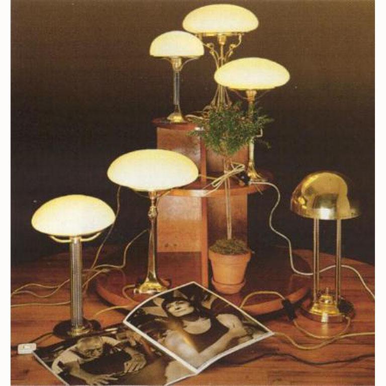 Josef Hoffmann Table Lamp 1901 Early 20th Century Re-Edition, Woka Lamps Vienna 5