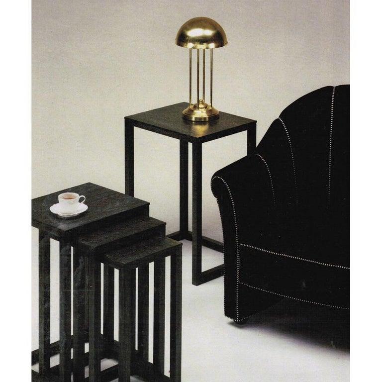 Contemporary Avantgardistic Josef Hoffmann Secessionist Jugendstil Table Lamp Re-Edition  For Sale