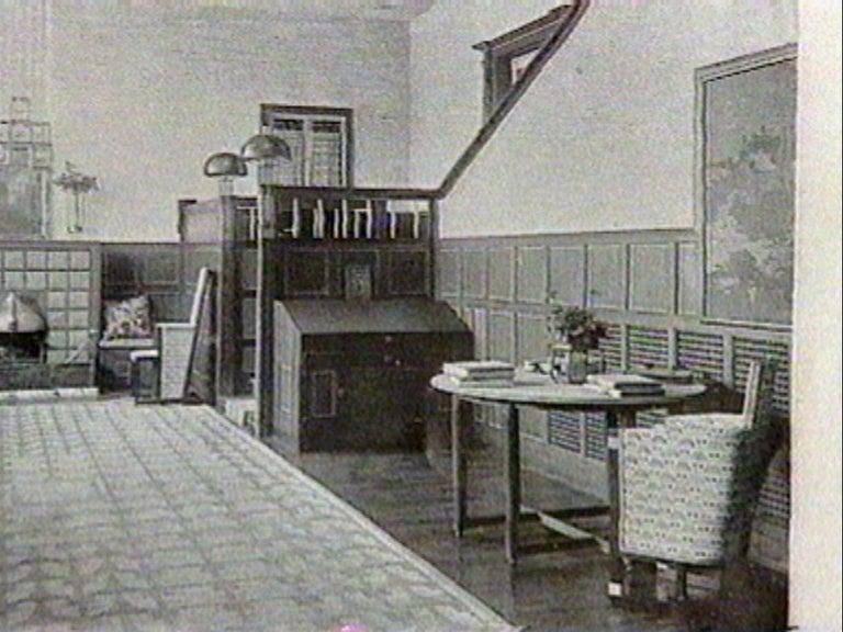 Avantgardistic Josef Hoffmann Secessionist Jugendstil Table Lamp Re-Edition  For Sale 1