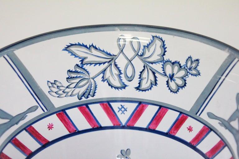 Josef Hoffmann/Vally Wieselthier/Wiener Werkstaette a Glass Centrepiece, 1917 For Sale 9