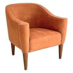 Josef Hoffmann Villa Gallia Style Tube Lounge Armchairs