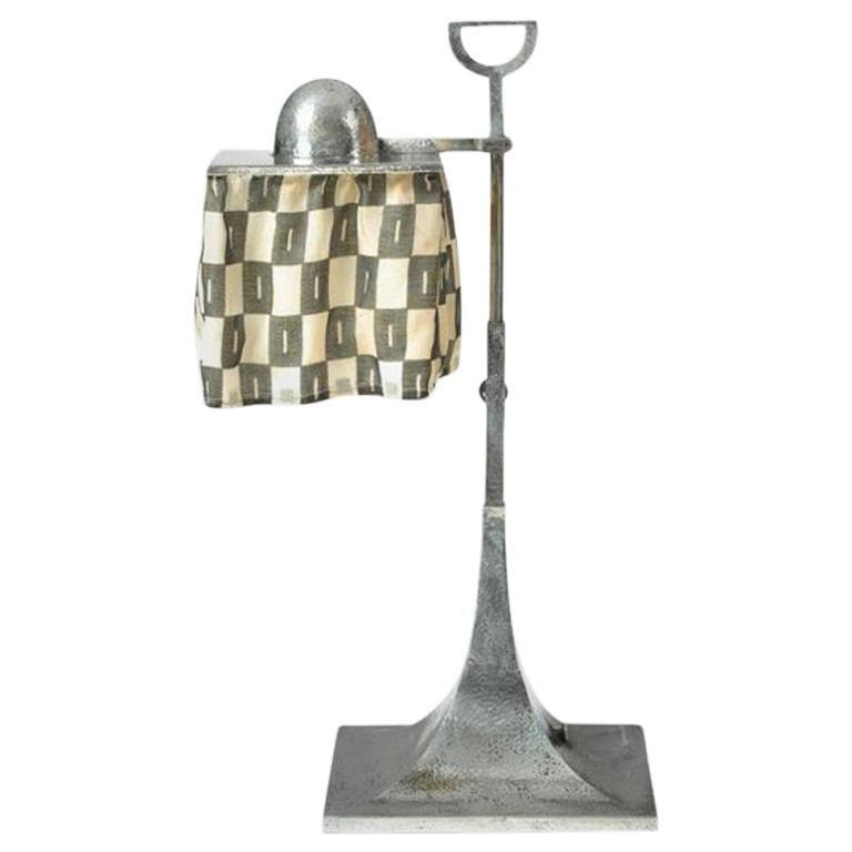 Josef Hoffmann & Wiener Werkastätte Table/Desk Lamp, Re Edition For Sale
