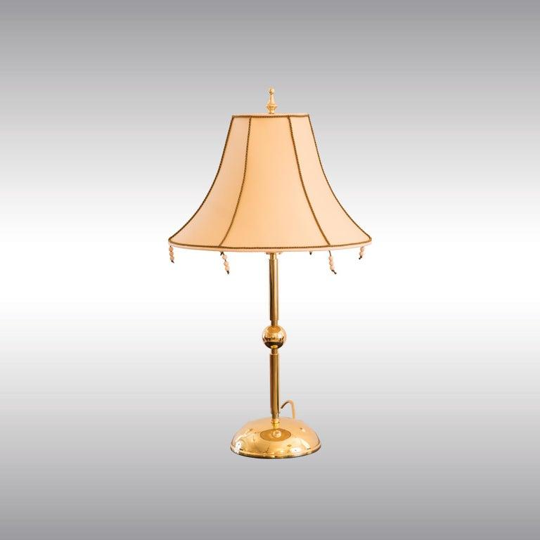 Austrian Josef Hoffmann & Wiener Werkstäette Jugendstil Art Nouveau Table Lamp re-edition For Sale