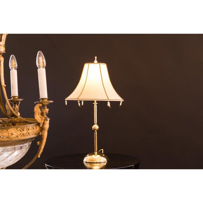 Hand-Crafted Josef Hoffmann & Wiener Werkstäette Jugendstil Art Nouveau Table Lamp re-edition For Sale