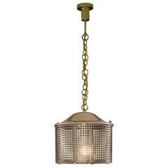Josef Hoffmann Wiener Werkstaette Jugendstil Pendant Lantern.  Re-Edition