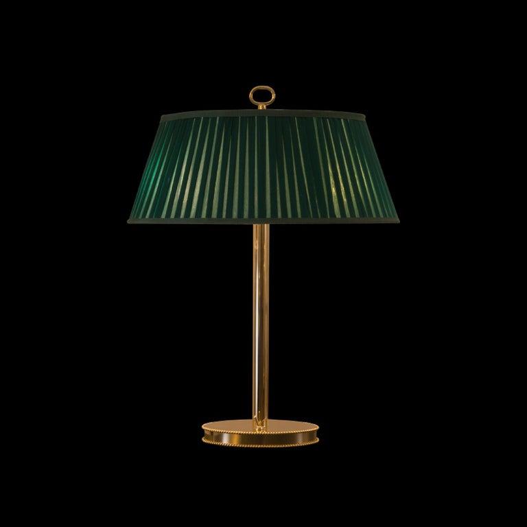 Austrian Josef Hoffmann & Wiener Werkstätte 1909 Desk Lamp, Re-Edition For Sale