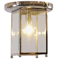 Josef Hoffmann Wiener Werkstätte Flush mount Jugendstil Lamp Re-Edition