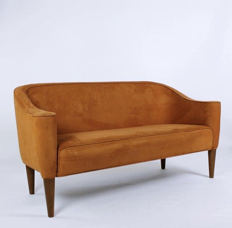 Josef Hoffmann Wiener Werkst 228 Tte Style Terracotta Sofa