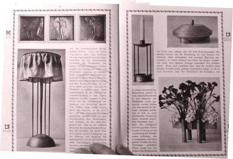 Jugendstil Josef Hoffmann&Wiener Werkstätte Wittgenstein Silk&brass Table Lamp, Re-Edition For Sale