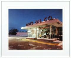 Bob's Oil, Grand Forks, ND archival pigment ink print by Josef Hoflehner 1 of 7