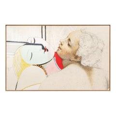 """Josef Levi 'American, NY, B.1938' Still Life, """"Picasso...Correggio"""""""