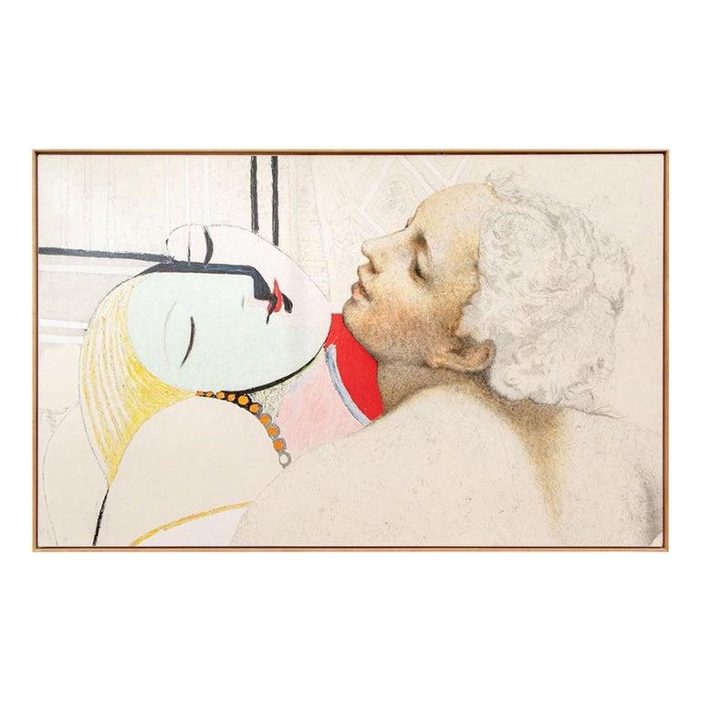 """Josef Levi 'American, NY, B.1938' Still Life, """"Picasso...Correggio"""" For Sale"""