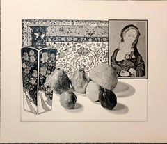 Still Life with German Master Pop Art Serigraph Hand Signed