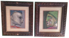 Pair of African American Portraits