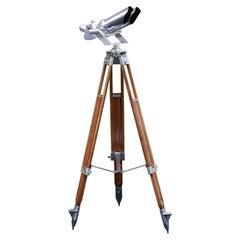 Josef Schneider WWII 10 X 80 Observation Binoculars