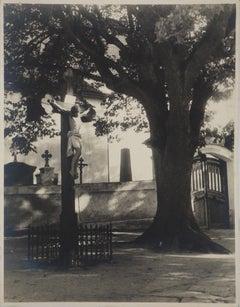Calvary - Original Gelatin Silver Photography,  Hand Signed - c. 1940