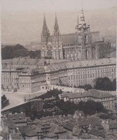 Czech Republic : Prague Castle - Original Gelatin Silver Photography