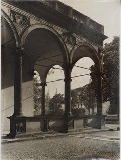 Prague : Belvedere - Original Hand Signed Gelatin Silver Photograph, c. 1960