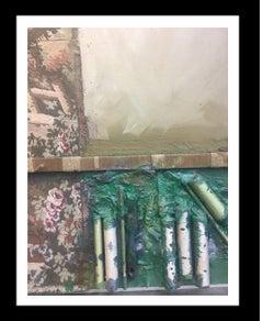 Homenaje al tapiz- original abstract mixed media painting