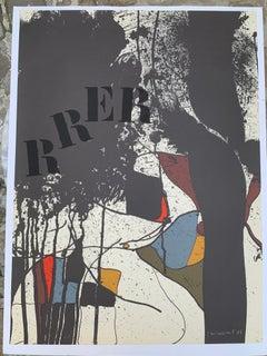 Lithography of Josep Guinovart - Composition (RRER)