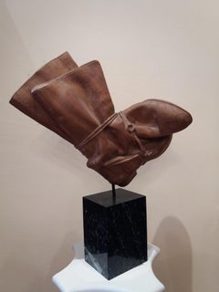 """BOTAS"" original wood sculpture 1990"