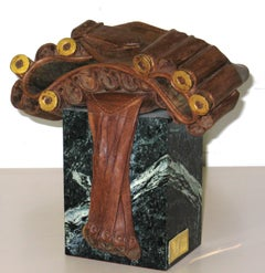CANANA original realistic wood sculpture