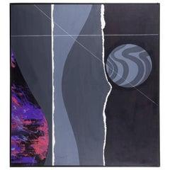 Joseph a. Pecsenke, Untitled, Acrylic on Board, 1985