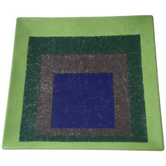 """Joseph Albers """"Study for Homage to the Square"""" Plate"""