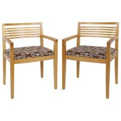 Joseph and Linda Ricchio Knoll Studio Ricchio Chairs in Beech